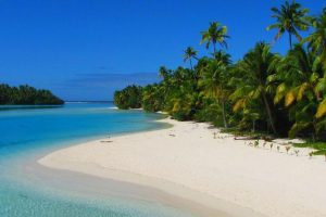 One Foot Island Aitutaki, Îles Cook (Pacifique Sud)