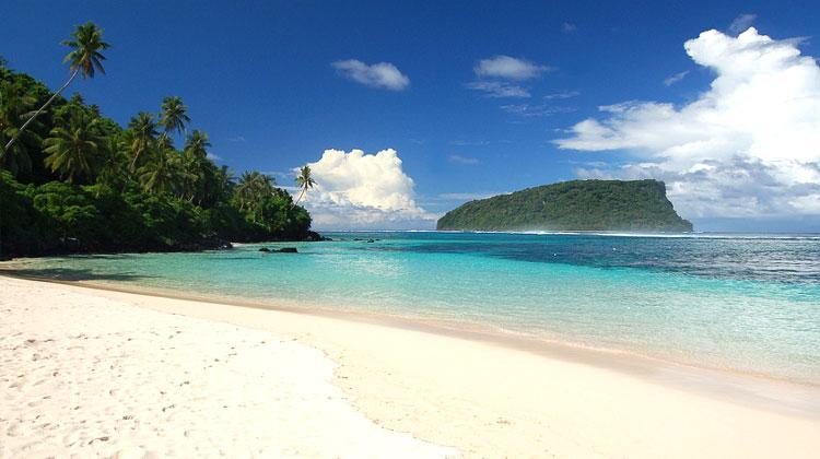 Lalomanu Beach Samoa (Polynésie)