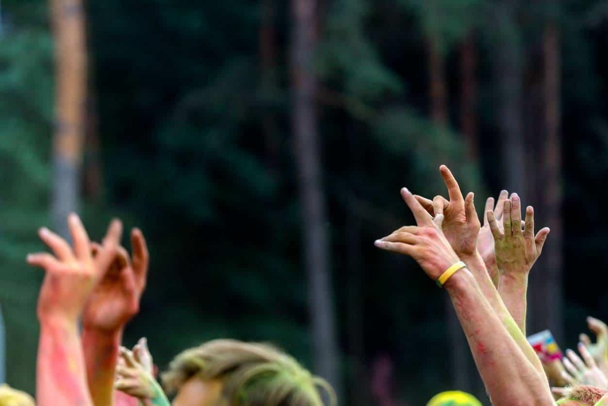 Bracelet contrôle festival